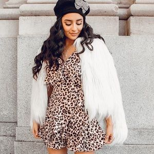 Cheetah Silk Romper